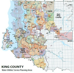 King County Water Planning districts